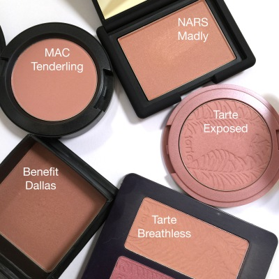 nude blush with names